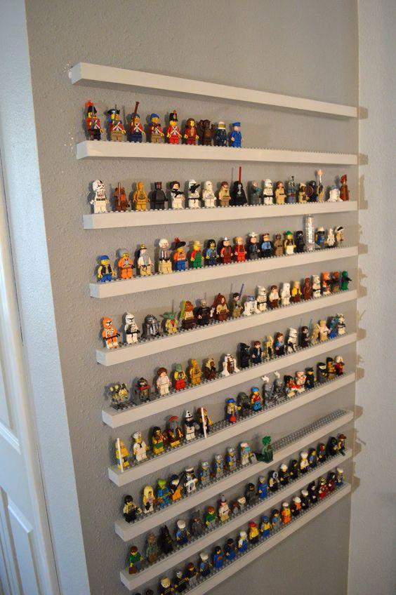 ledges turned into LEGO holders