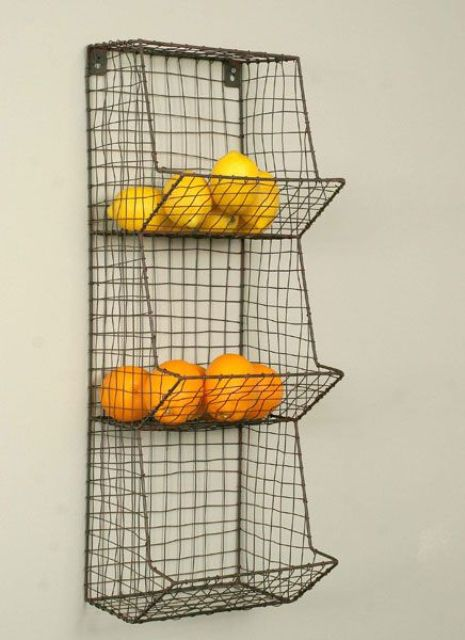 wire fruit and vegetable holder