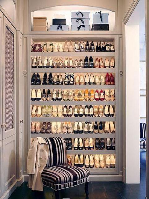 Open Closet Storage Organization