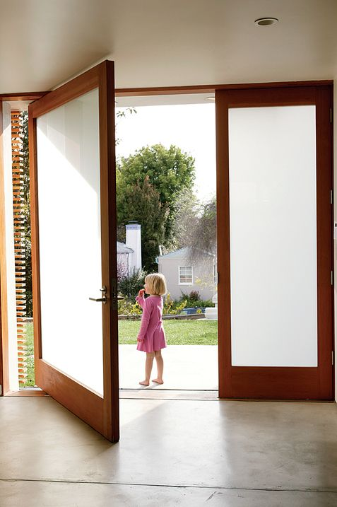 Picture Of Etched Glass Front Door For Privacy
