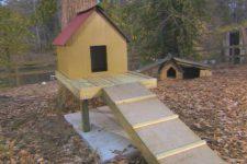 DIY dog tree house