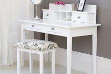 DIY modern vanity with plans