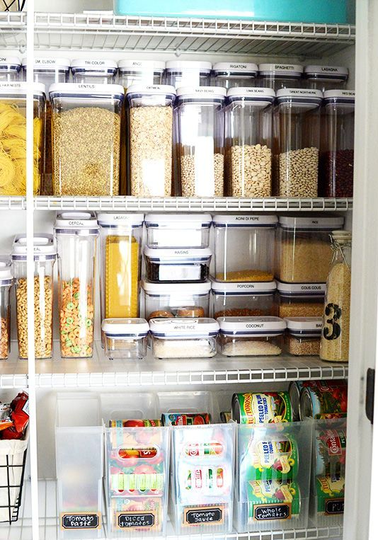 Storage Ideas For The Kitchen Pantry