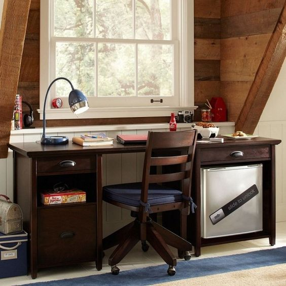 Decorating Ideas For Study Spaces: 22 Teen Study Spaces For Boys And Girls