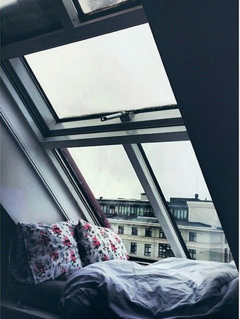 attic window nook to curl up