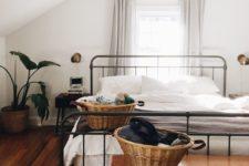 baskets for bedroom storage