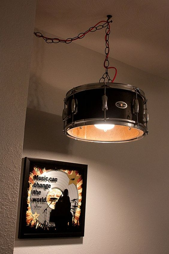 Captivating Drum Pendant Lamp