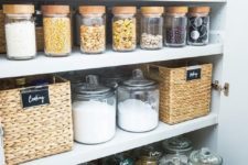05 glass jars with glass lids for a refined look
