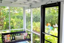 05 screened back porch to keep your pets safe and still enjoy outdoors