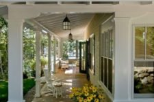 06 open porches help to extend the living space of your home