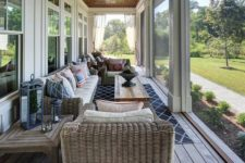 09 long and narrow screened-in porch
