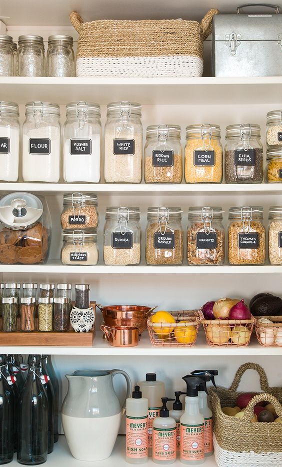mason jars for food storage