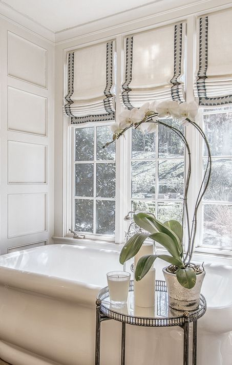 Three Roman Shades Are Perfect For Letting A Lot Of Light In