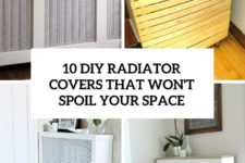 10 diy radiator cover that won't spoil your space cover
