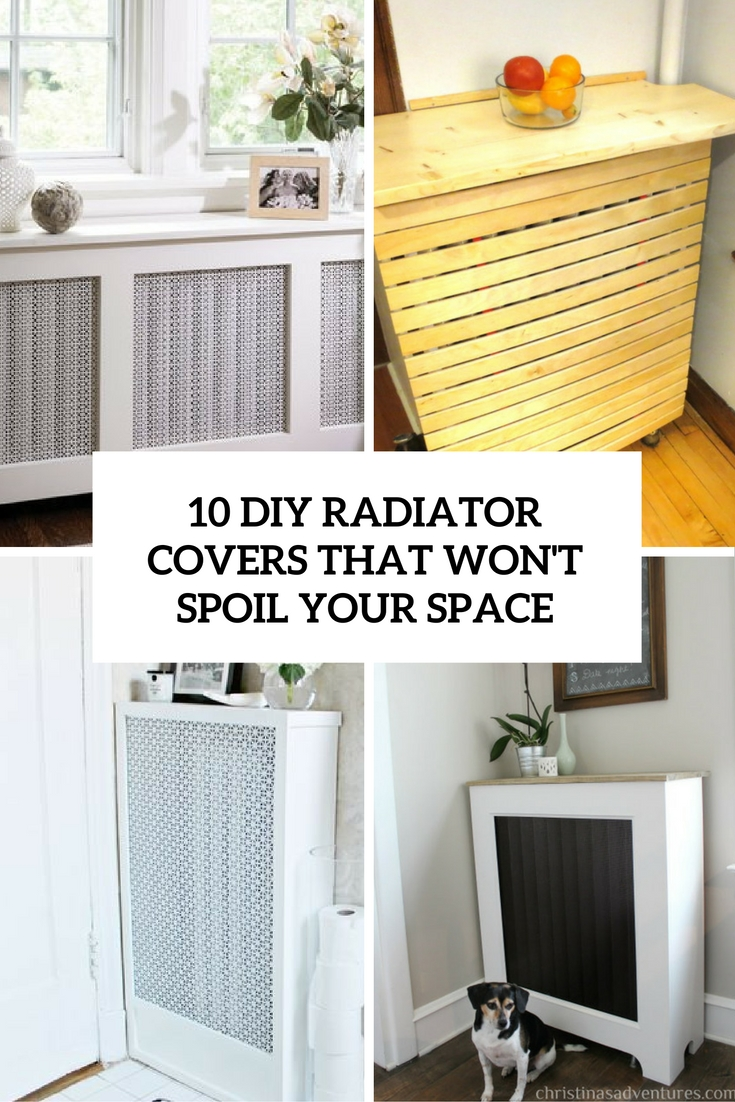 10 Diy Radiator Covers That Won T Spoil Your Space