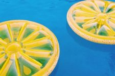 10 lemon pool floats