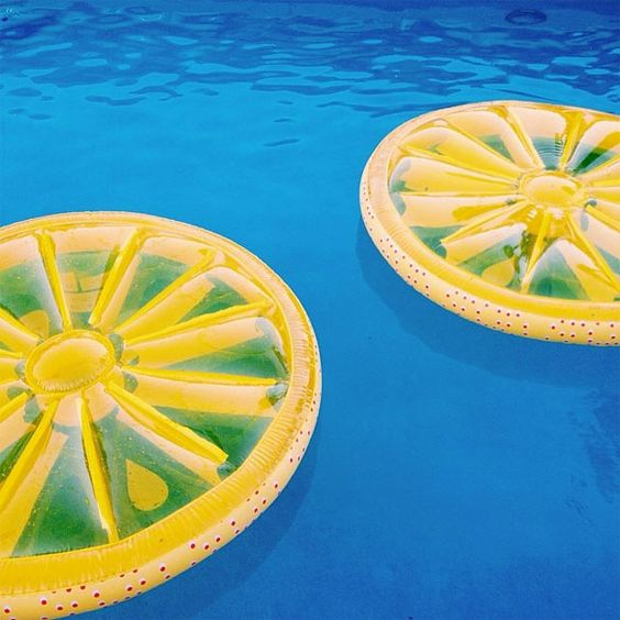 lemon pool floats