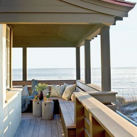 Picture of beach porch for Beach house designs with wrap around porch