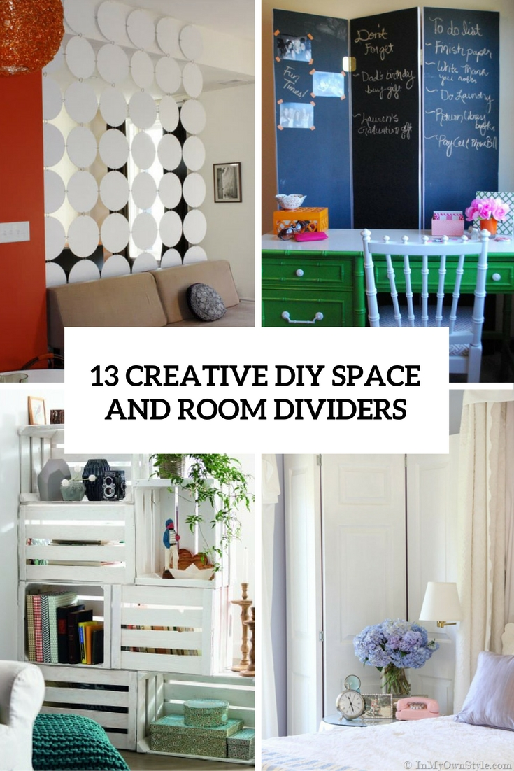 13 Creative DIY Room And Space Dividers Shelterness