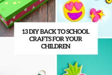 13 diy back to school crafts for your children cover