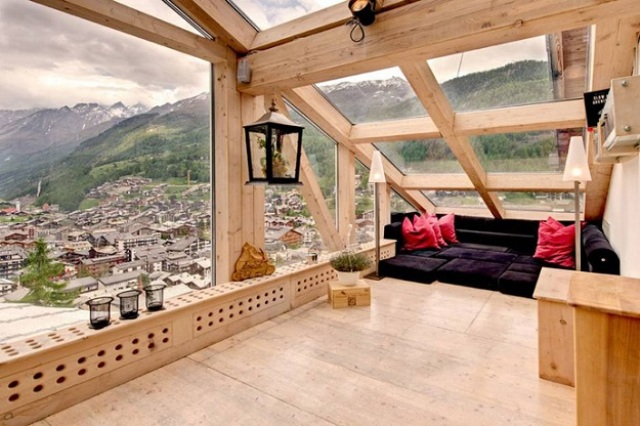 living nook by the attic window