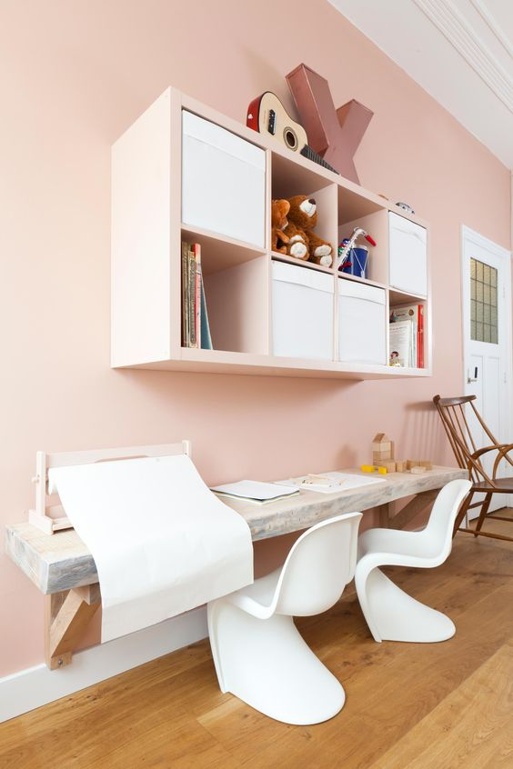24 Ways To Decorate And Organize A Kids Study Nook Shelterness