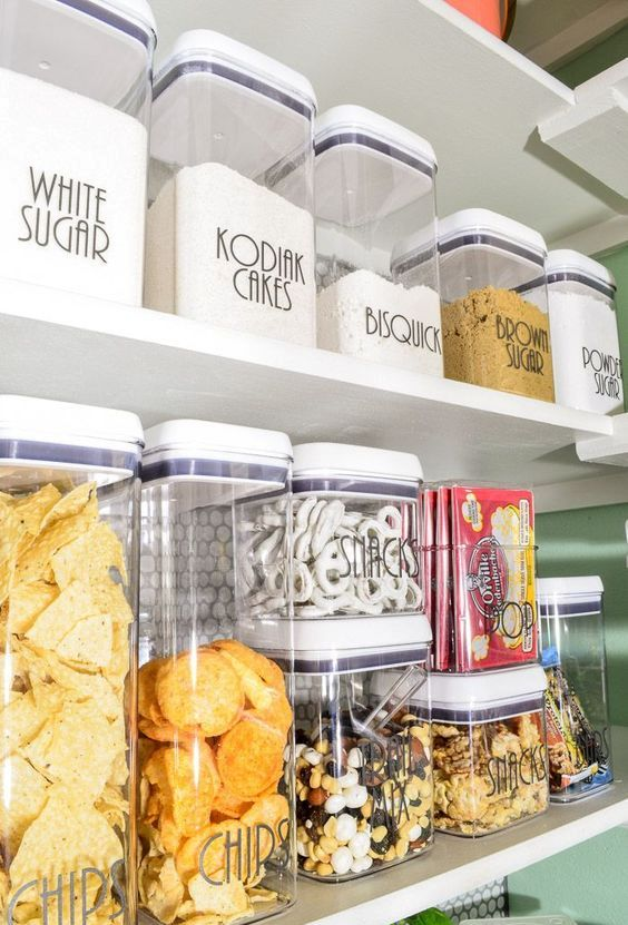 plastic storage containers for dry foods