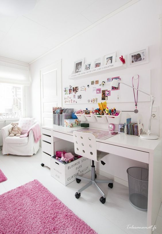 24 Ways To Decorate And Organize A Kids Study Nook - Shelterness