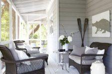17 wrap around screened porch as a veranda