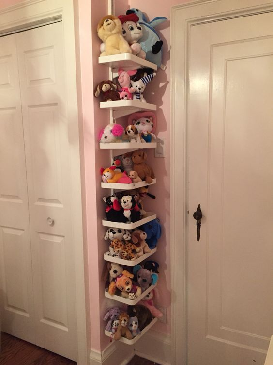 IKEA Algot Shelves For Storing Kids Toys