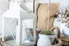 22 low basket for summer home decor
