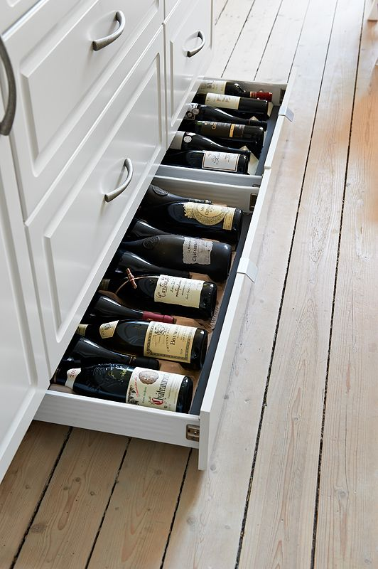 wine drawers for kitchen furniture
