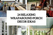 24 relaxing wraparound porch decor ideas cover