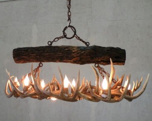 Good original antlers chandelier