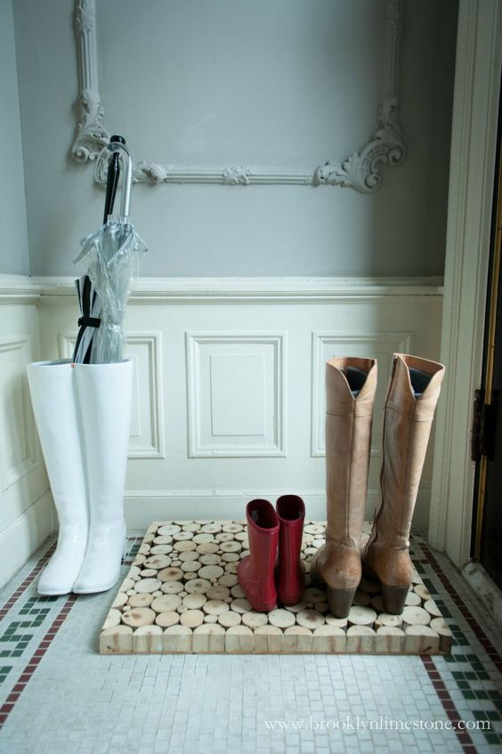 comfy boot tray for hallways