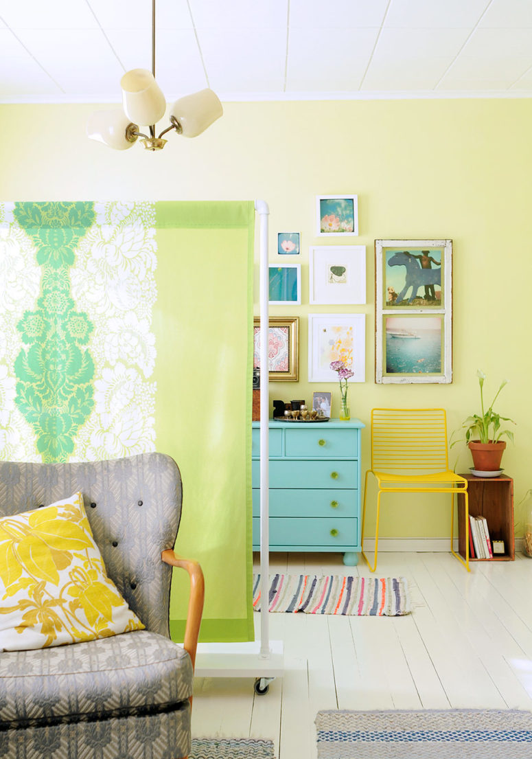 how to build a simple divider wall