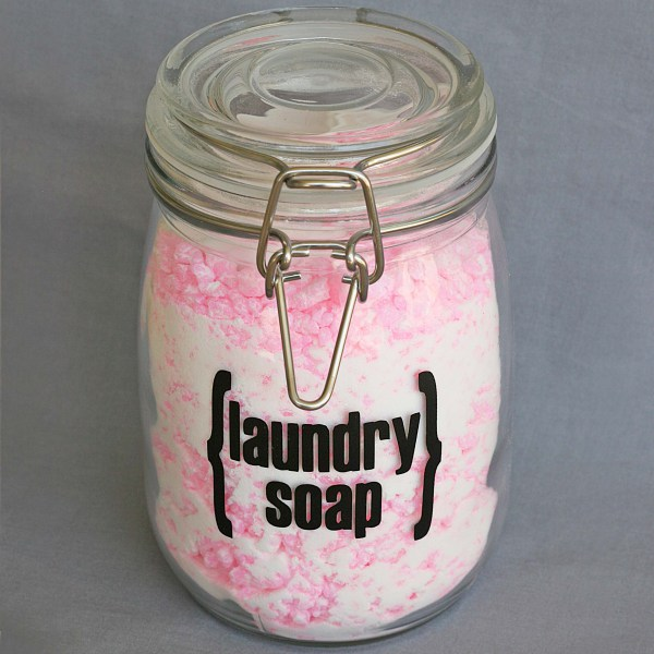 DIY laundry detergent using Zota laundry soap (via www.starsandsunshine.com)