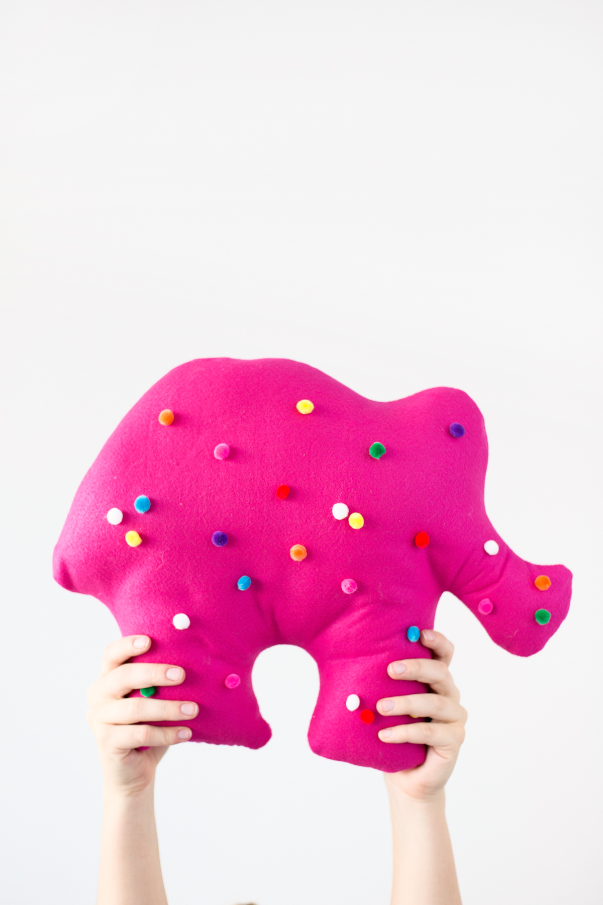 DIY circus animal cookie pillow (via studiodiy.com)