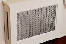 DIY radiator cover cabinet