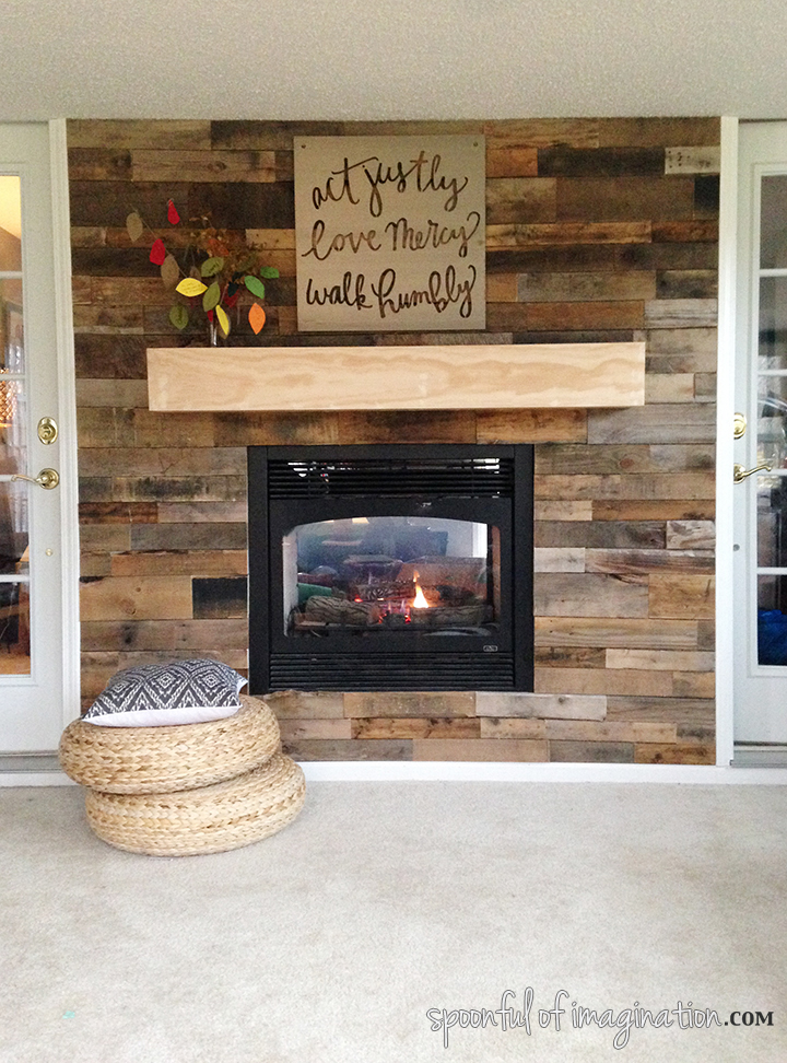How To Panel A Wall With Pallet Wood: 10 DIY Projects ...