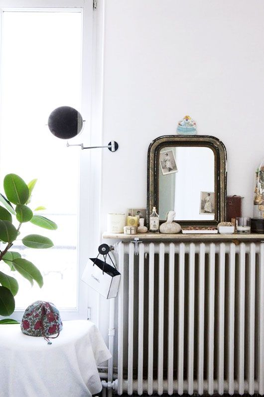 shelf as a dressing table and girlish accessories holder