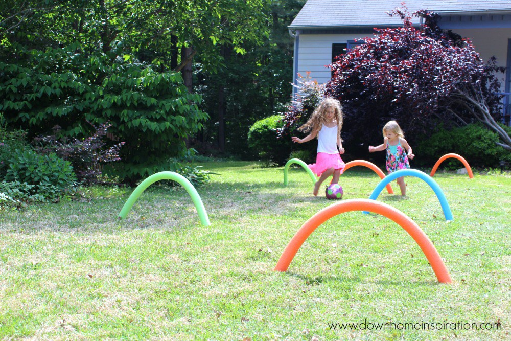 13 Simple And Funny Diy Pool Noodle Crafts Shelterness
