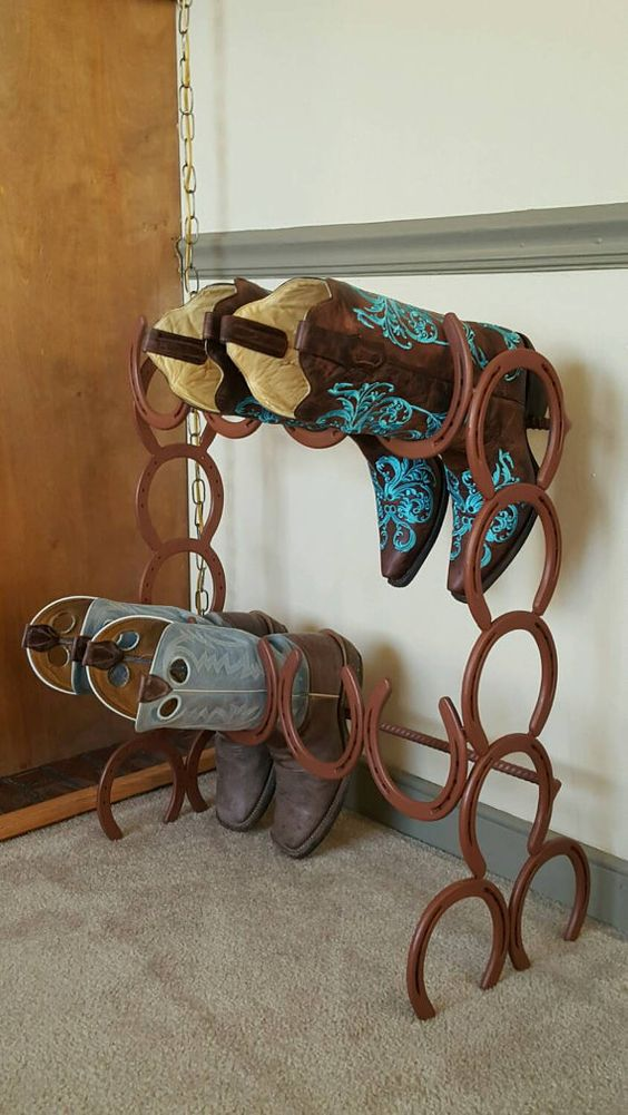 26 Rustic Horseshoe Home D 233 Cor Ideas Shelterness