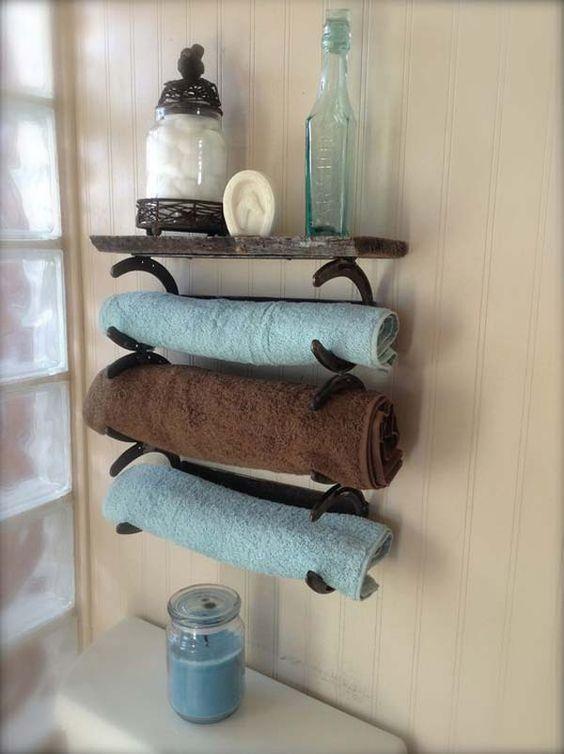 Pallet Towel Rack Ideas