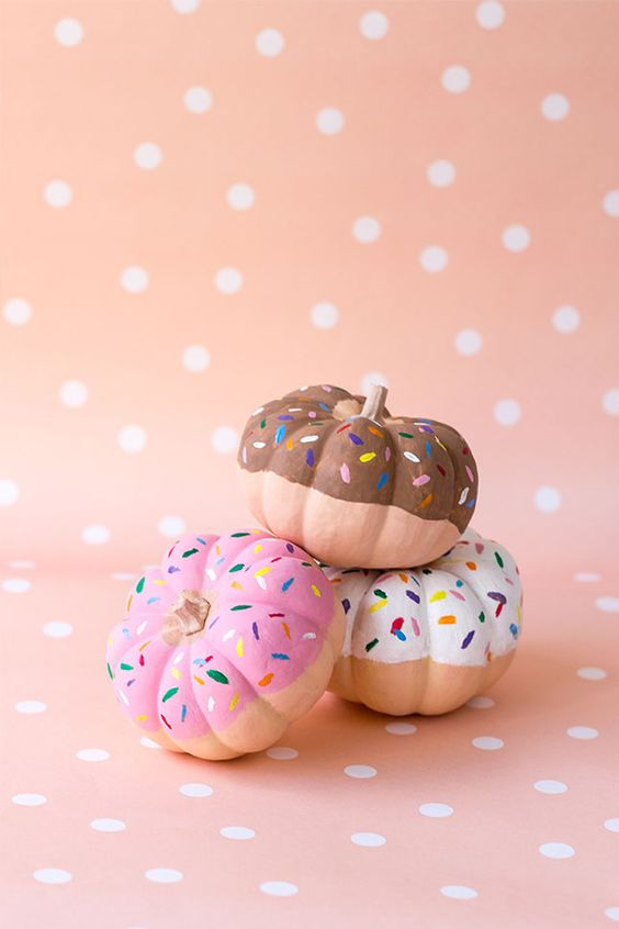 donut pumpkins are the best ones to have fun