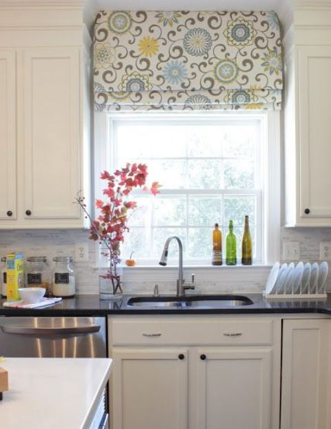shades are great for every kitchen window