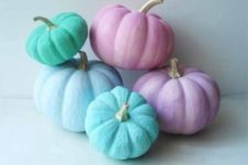 07 such pastel pumpkins are easy to DIY