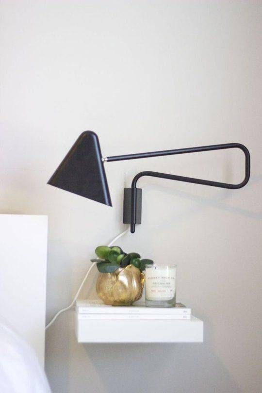 24 Creative And EyeCatchy Bedside Table Alternatives Shelterness
