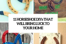 11 horseshoe diys that will bring luck to your home cover