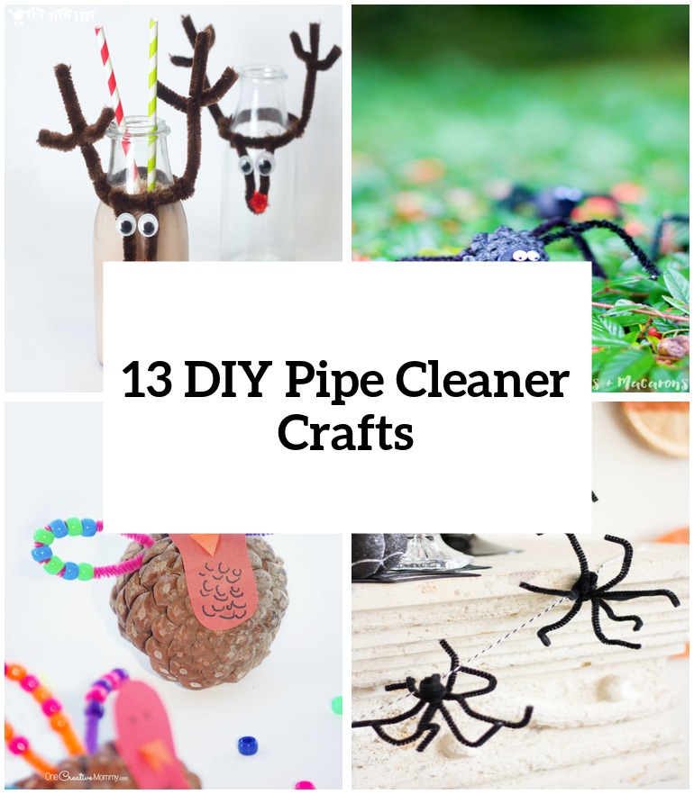 13 DIY Pipe Cleaner Crafts That Your Kids Will Love